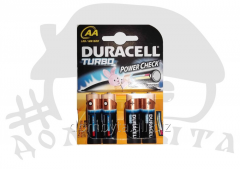 Батарейки DURACELL TURBO (AA)
