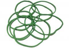 Green Rubber bands zet kg rubber bands 1