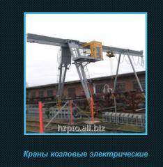 Electric gantry cranes