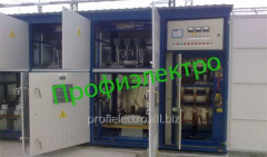 Installation is condenser high-voltage