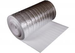 ALYuFOM the made foam polyethylene, teploizol,