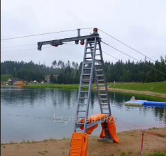 Ropeways for water skiers
