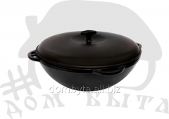 Cauldron Asian with a cover (EM l d=300 V=6)