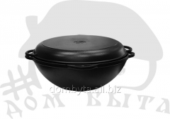 Cauldron Asian with a cover frying pan (EM l d=400