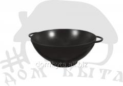 WOK pan (d=260 of mm h=120 of mm of V=3.5 l) of EM