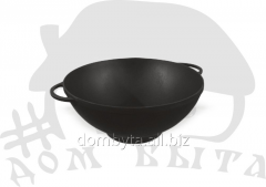 WOK pan (d=260 of mm h=120 of mm of V=3.5 l) of