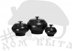 Pan a chugunok of oven V1.5 of l with a l EM V1,5