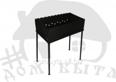 Brazier pig-iron 550*300 assembly with a cover
