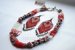 Set of jewelry in AO 01-12 ethno-style