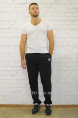 Knitted men's TM02-421 trousers