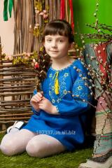 Tunic D032/1-293, children's for the girl