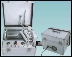 Mobile stomatologic prefix (installation)