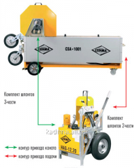 System of rope cutting CSA1001HA Cedima