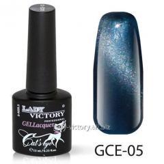 """Гель-лак """"Кошачий глаз"""" код: GCE- 05"""