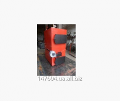 Solid fuel boiler 60 kW pyrolysis, gasification
