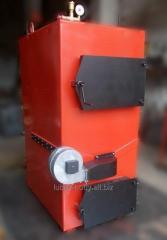 Solid fuel boiler 60 kW pyrolysis, gasification,