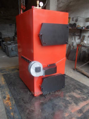Gasification boiler, 90 kW solid fuel