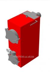 Котел твердотопливный пиролизный 140 КВТ, газогенераторный