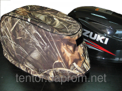 Cover on a cover a cowl of the boat Suzuki 20