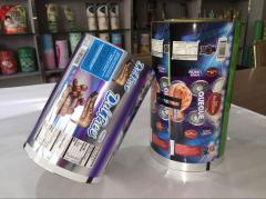 Production of soft full-color packing