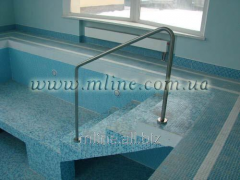 Hand-rail to the pool 5