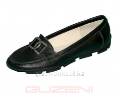 Mocassins for women GUZENI m-12-5 (ch-k)