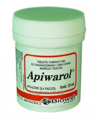 Apivarol, Poland (25 tablets)