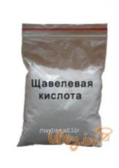 Oxalic acid without packing