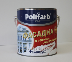 Paint of Fasadlyuks for decorative and protective