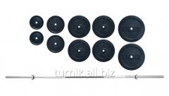 Штанга для качалки 140 кг (код SH-8)
