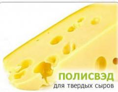Latex covering for cheeses Polisved, packaging of