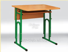 Table adjustable, student's 1 local with the