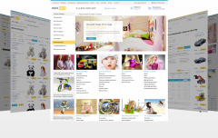 Children's goods and toys. Clothes. (KidsPRO)