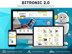Bitronik 2 — online store of electronics to