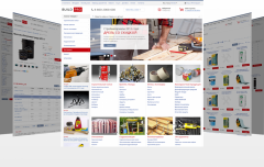 BuildPRO - adaptive shop of construction materials