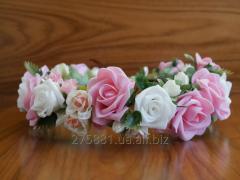 Венок на голову , венки с цветами