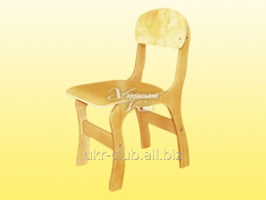 Chair children's plywood Imagination of