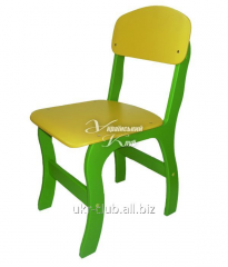 Chair children's plywood Imagination colored