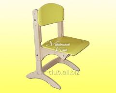 Chair children's plywood Antoshka adjustable