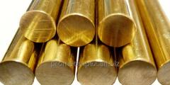 Латунные прутки Л63 диаметром 4,0 - 200 мм
