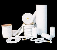 TEXTILE PRODUCTS from ceramic LYTX fiber