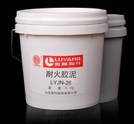 Fire-resistant mass of the LYJN brand