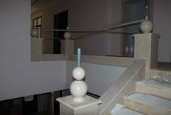 Marble. Spheres from marble