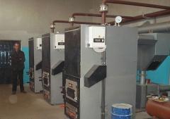 Boilers on waste
