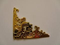 Уголок гибкий золото, код C-040 золото