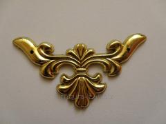 Уголок  гибкий, код C-042 золото