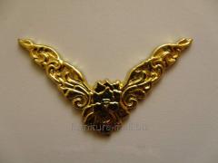 Уголок  гибкий для шкатулок, код C-043 золото