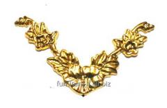 Уголок гибкий золото, код M1329