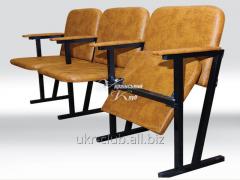 Assembly hall chair to 3-seater 1550х530х830 mm