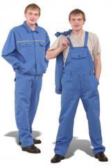 Напівкомбінезони робітники з курткою